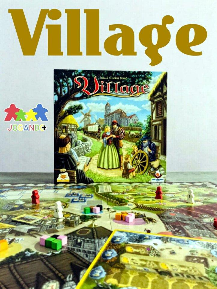 Jogo de tabuleiro Village