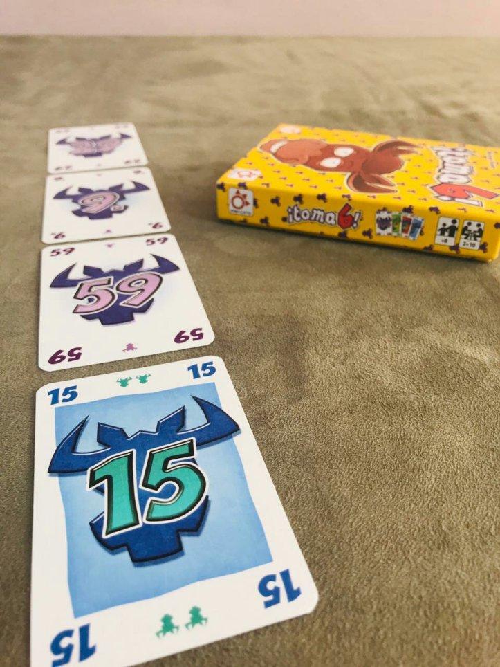 Jogo de tabuleiro Pega em 6!