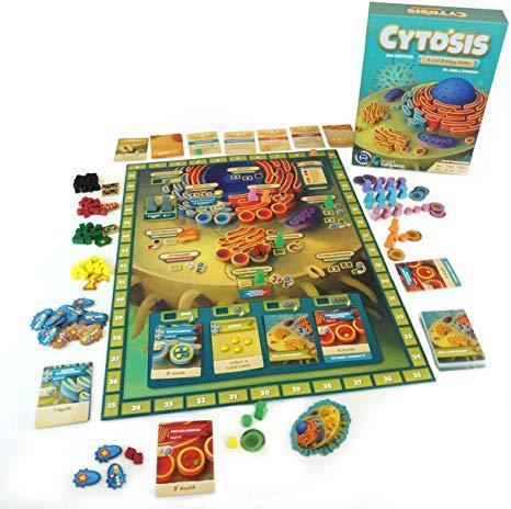 Jogo de tabuleiro Cytosis