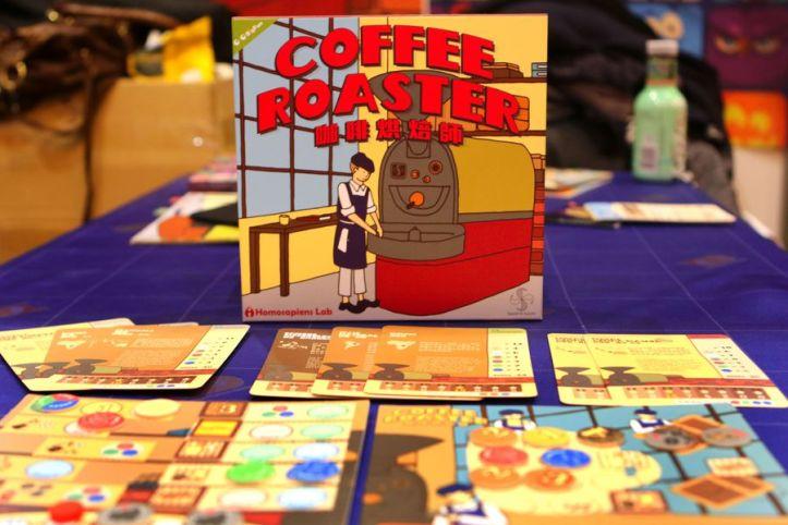 Jogo de tabuleiro Coffee Roaster