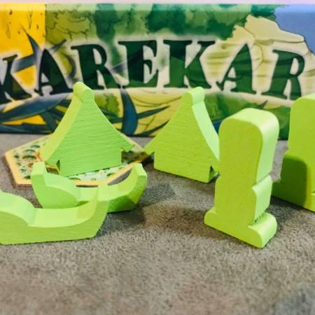 Jogo de tabuleiro Karekare