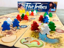 Jogo de tabuleiro Five Tribes