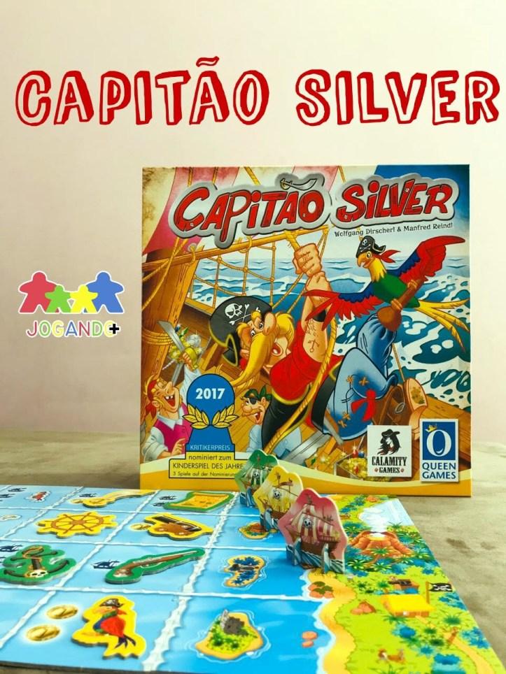 Jogo de tabuleiro Capitão Silver