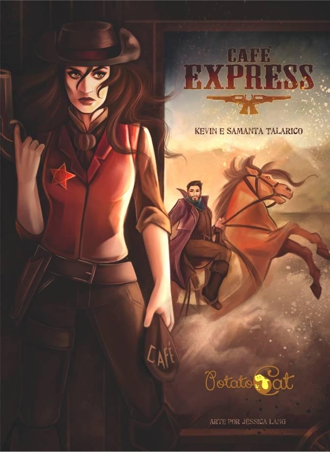 Jogo de tabuleiro Cafe Express