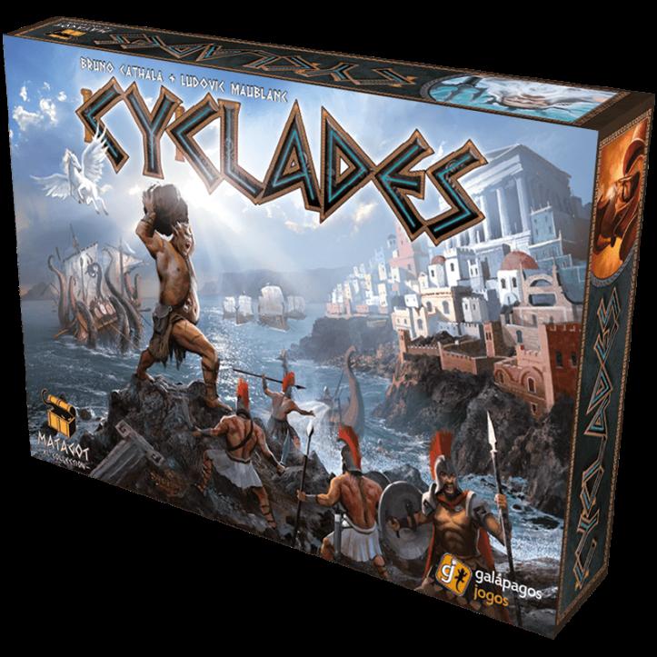 Jogo de tabuleiro Cyclades