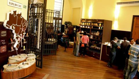 Cafeteria do Museu do Café