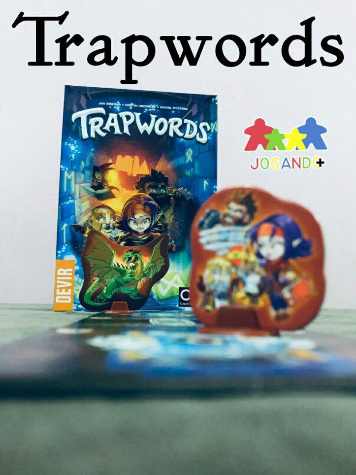Jogo de tabuleiro Trapwords