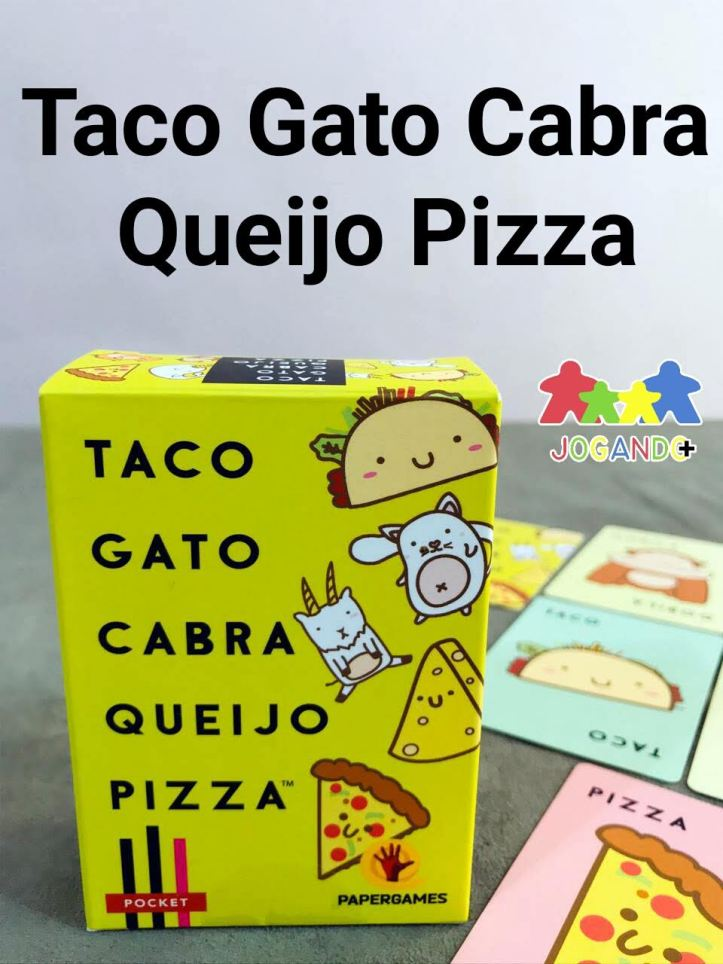Jogo de tabuleiro Taco Gato Cabra Queijo Pizza