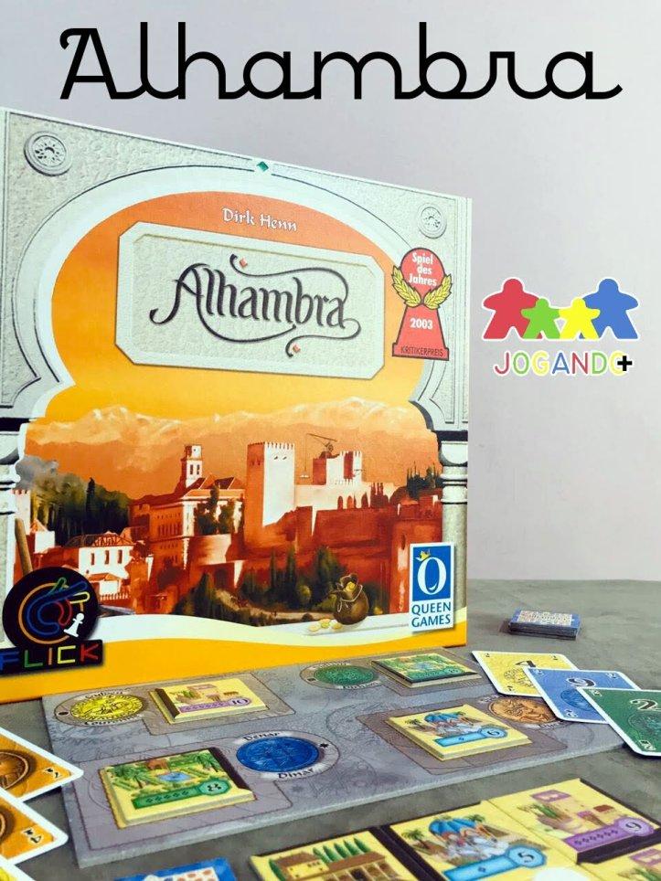 Jogo de tabuleiro Alhambra