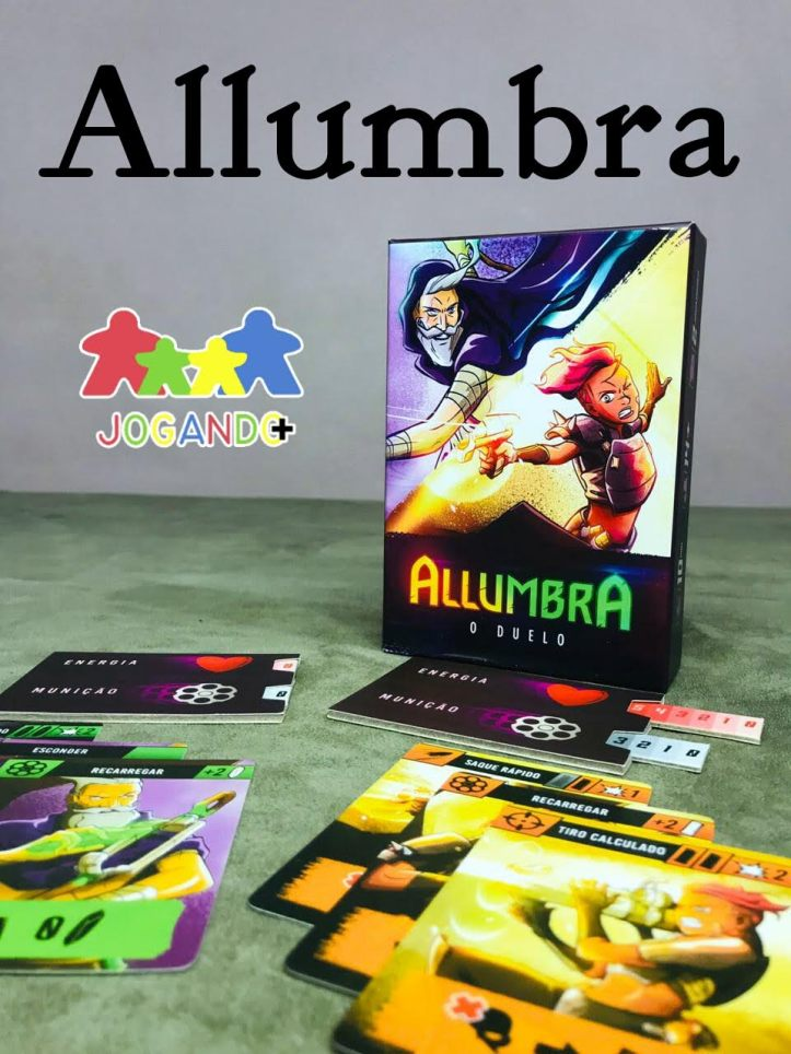 jogo de tabuleiro Allumbra