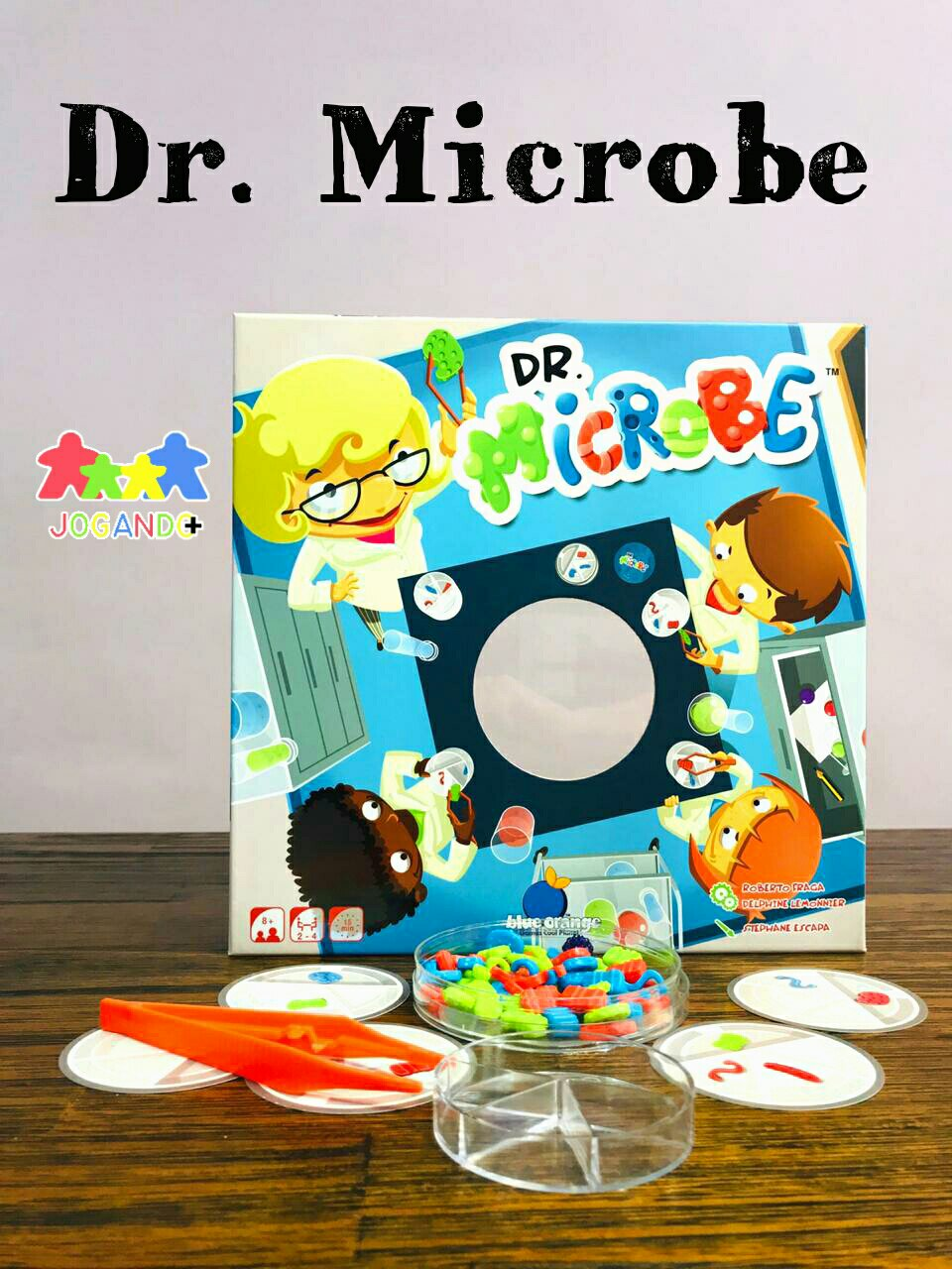 Jogo de tabuleiro Dr Microbe