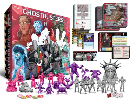 Jogo de tabuleiro Ghostbusters