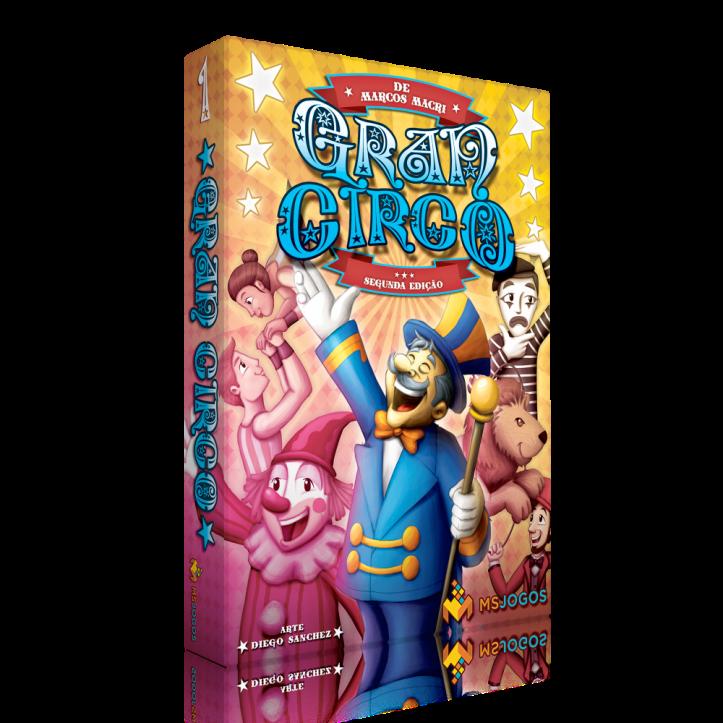 Jogo de tabuleiro Gran Circo