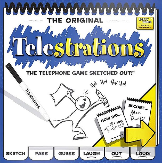 Jogo de tabuleiro Telestrations