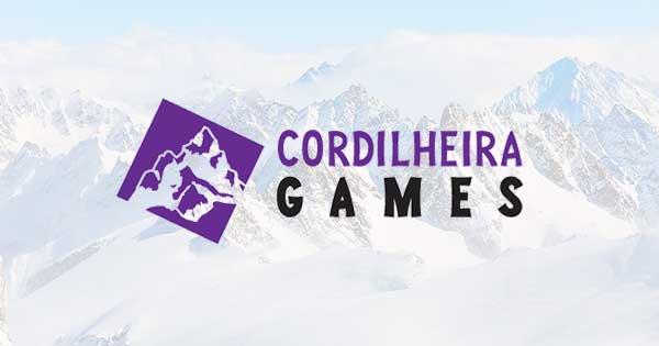 Logo editora Cordilheira Games