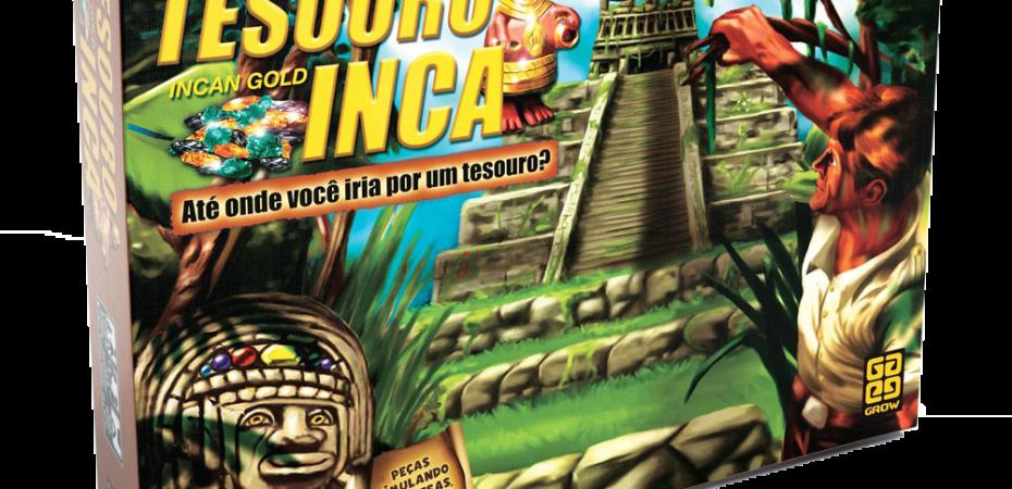 Jogo de tabuleiro Tesouro Inca