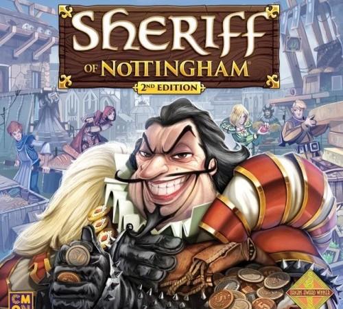 Jogo de tabuleiro Sheriff of Nottingham