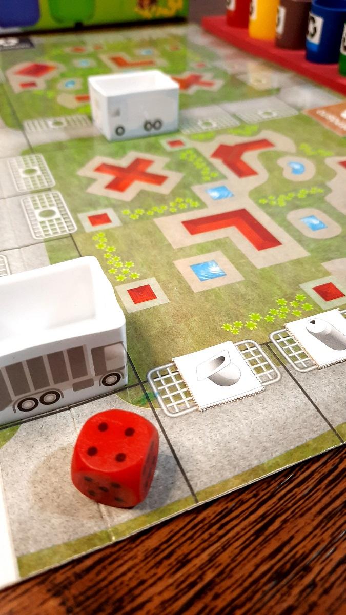 Jogo de tabuleiro Cidade Limpa