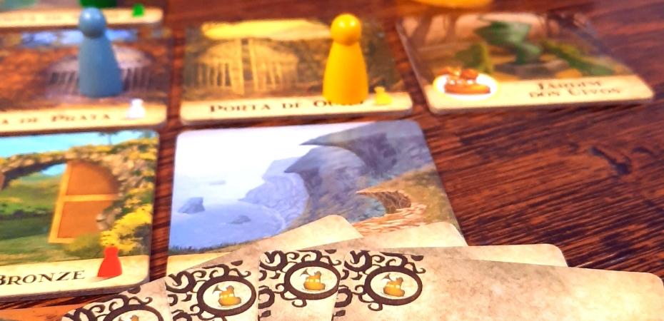 Jogo de tabuleiro Ilha Proibida