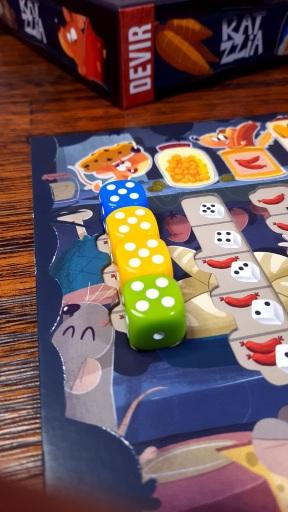 Jogo de tabuleiro Ratzzia