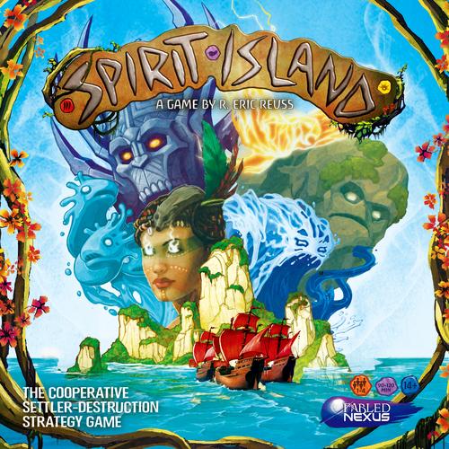 Jogo de tabuleiro Spirit Island