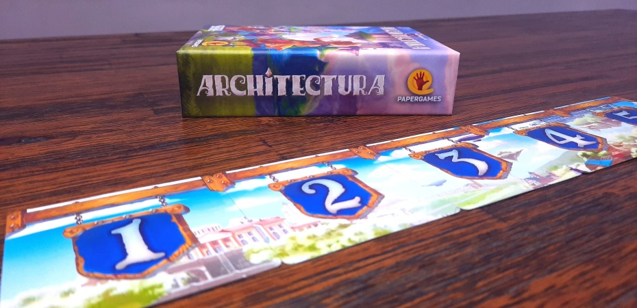 Jogo de tabuleiro Architectura