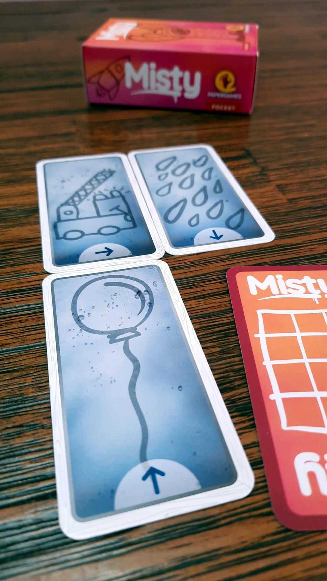 Jogo de tabuleiro Misty