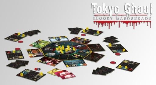 Jogo de tabuleiro Tokyo Ghoul