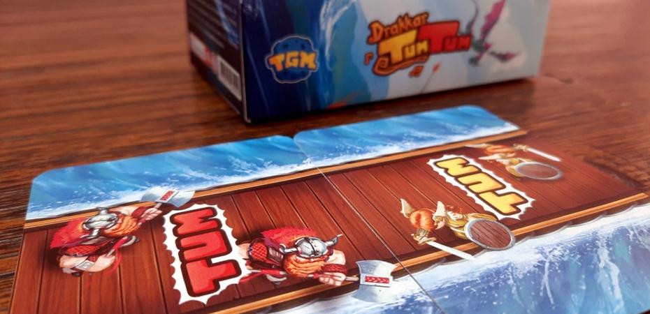 Jogo de cartas Drakkar Tum Tum