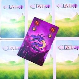 Jogo de cartas CLAIM