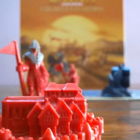 Expansão CATAN Cidades e Cavaleiros