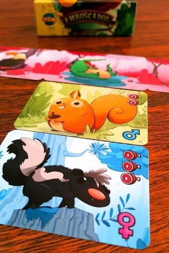 Jogo de cartas Emboscados