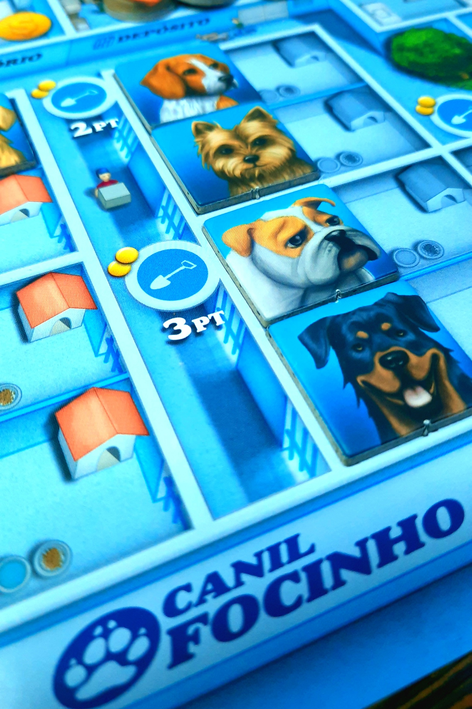 Jogo de tabuleiro Dogs