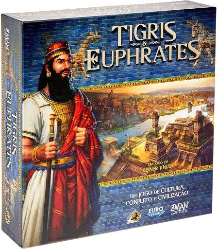 Jogo de tabuleiro Tigris & Euphrates