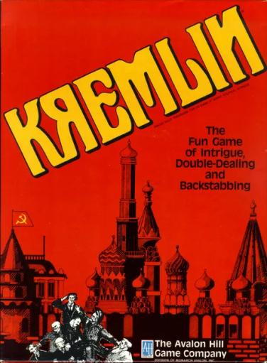 Jogo de tabuleiro Kremlin