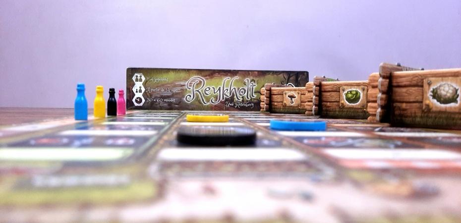 Jogo de tabuleiro Reykholt