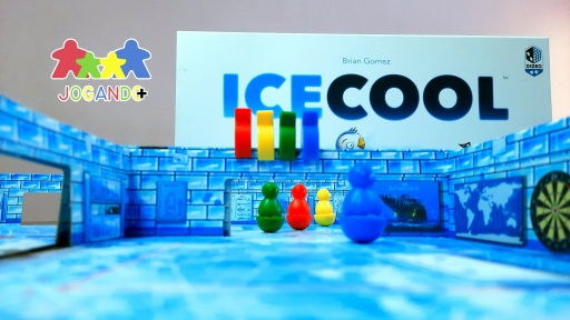 Jogo de tabuleiro IceCool