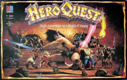 Jogo de tabuleiro Heroquest