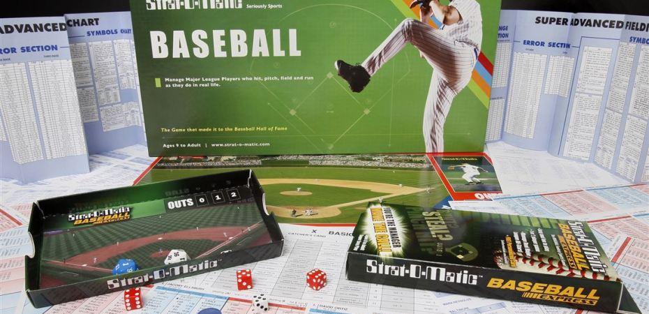 Jogo de tabuleiro Strat-O-Matic Baseball