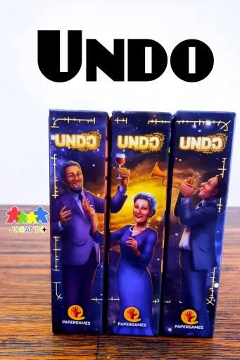 Jogo de tabuleiro UNDO