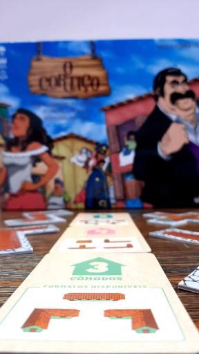 Jogo de tabuleiro O Cortiço