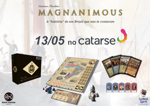 Magnanimous financiamento coletivo