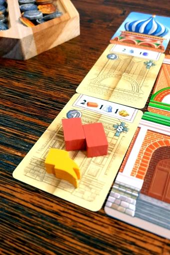 Jogo de tabuleiro Red Cathedral