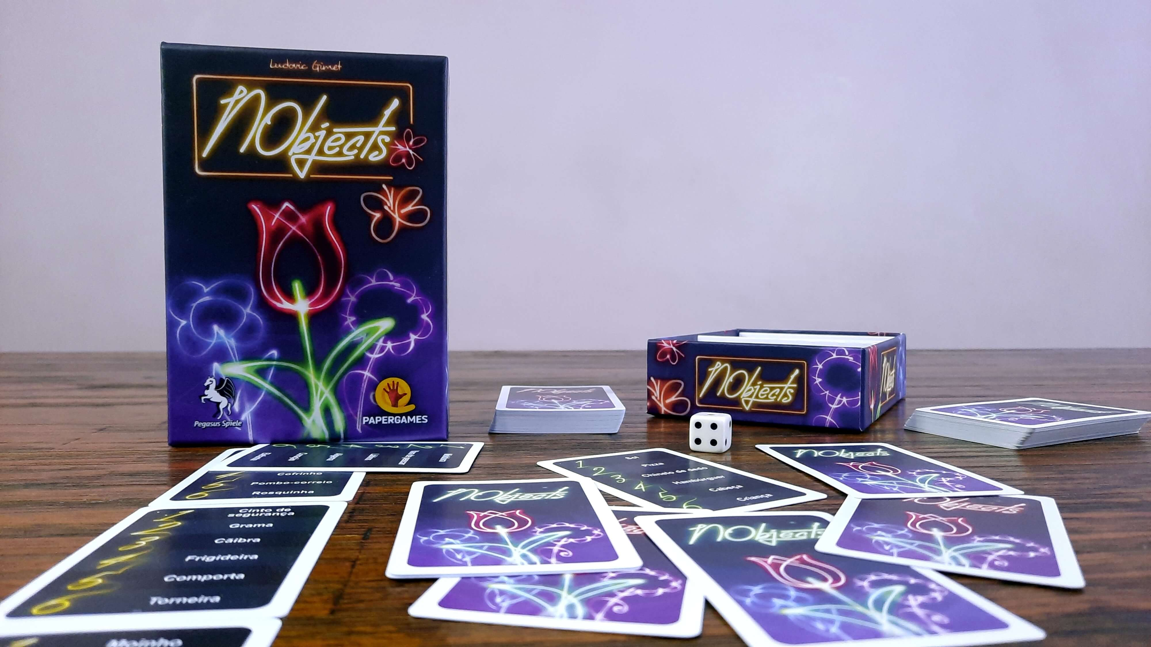 Jogo de cartas NObjects