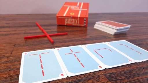 Jogo de tabuleiro SixStix