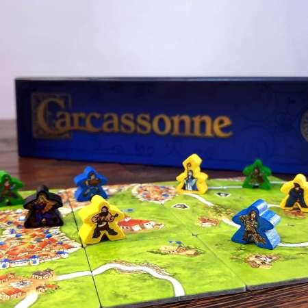 Jogo de tabuleiro Carcassonne
