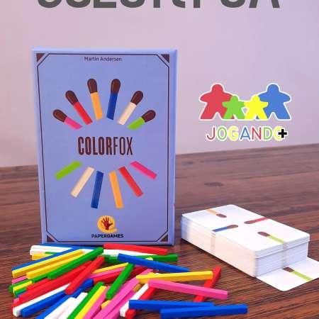 Jogo de tabuleiro Colorfox